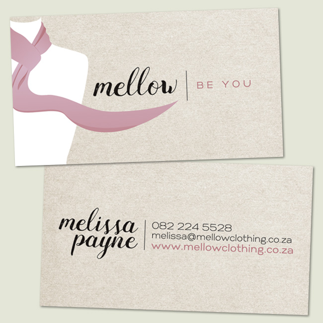 Mellow Clothing Business Card