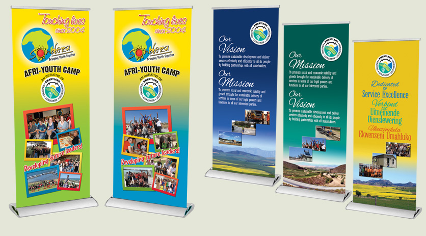 Banner designs for Swartland Municipality