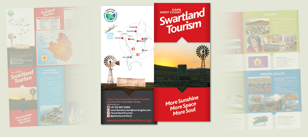 Cover of Swartland Tourism Brochure